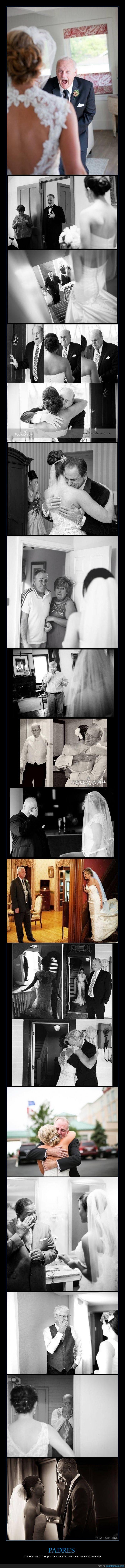 emocion,hija,llorar,novia,padre,traje,vestida,vestido