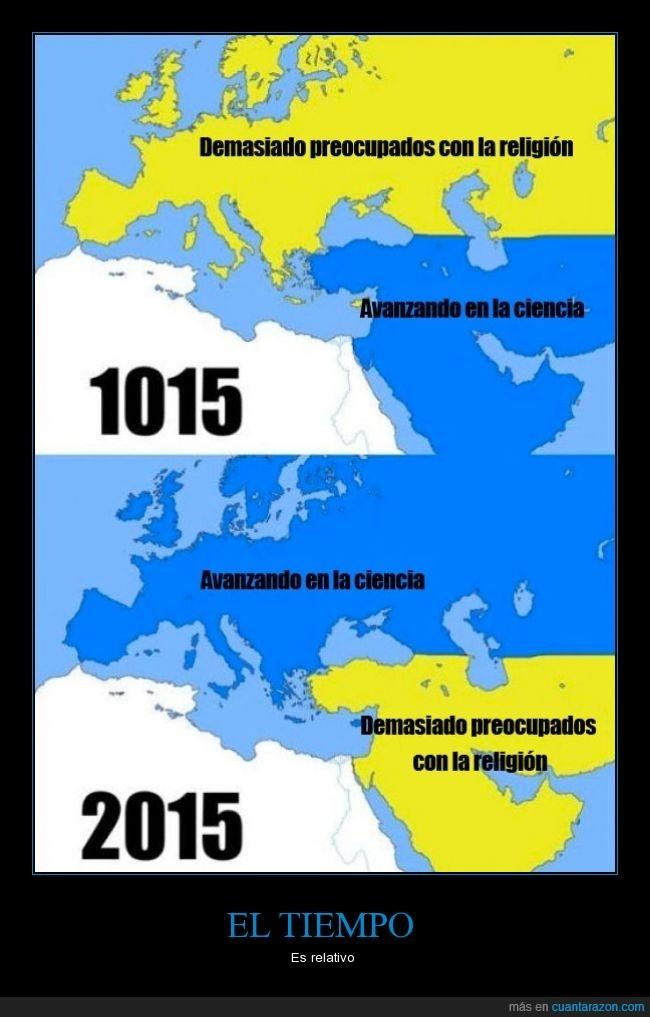 arabe,ciencia,diferencia,europa,extremismo,musulman,occidente,oriente,religion,religiosos,tiempo