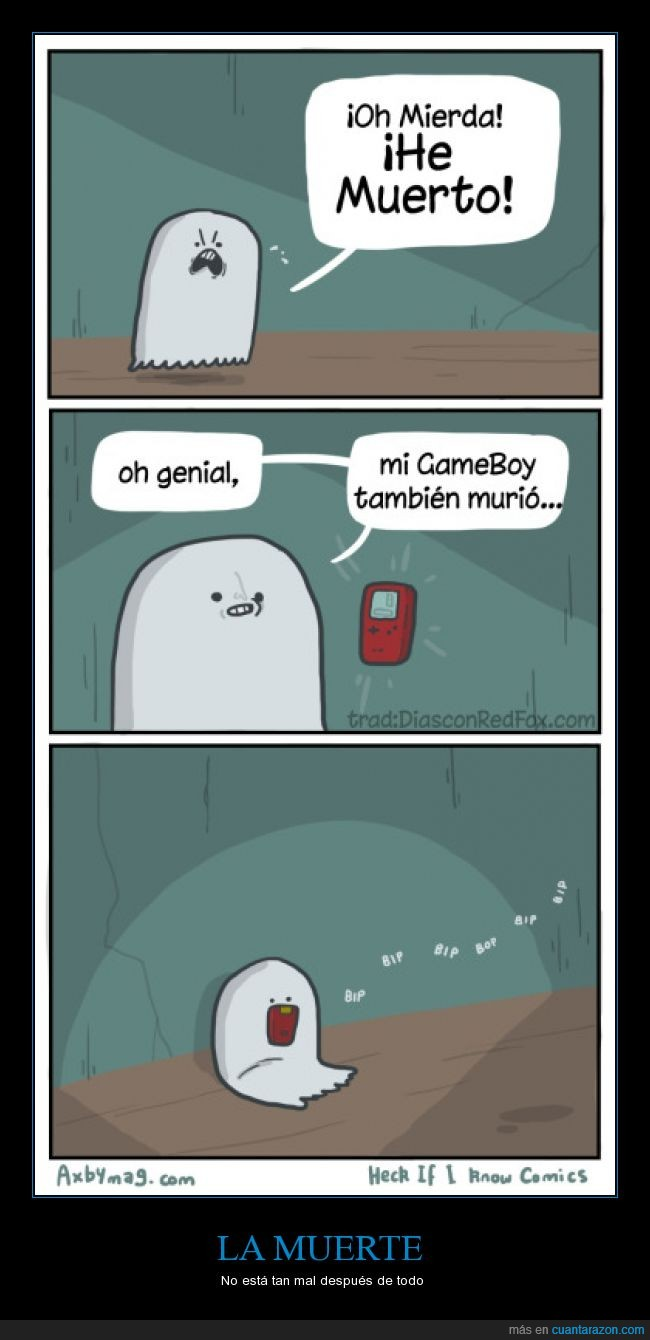fantasma,Gameboy game boy,morir,muerte,murio