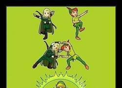 Enlace a ¿Qué pasa si fusionas a Legolas y a Peter Pan?