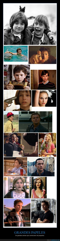 actores,chicos,Christian Bale,cine,Drew Barrymore,Elijah Wood,Joseph Gordon Lewitt,Kristen Dunst,Leonardo Dicaprio,Natalie Portman,niñas,niños