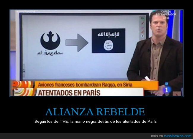 alianza rebelde,error,fail,friki,simbolos,star wars,terrorismo,terrorista,yihad