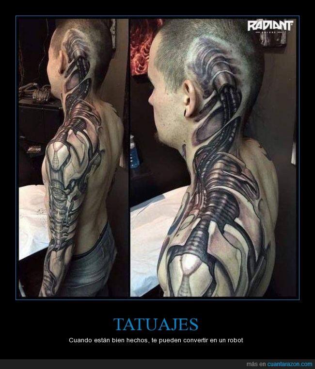 bionico,mecanismo,metal,robot,tattoo,tatuaje