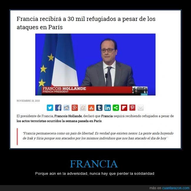 atentados,Francia,irak,refugiados,siria,solidaridad