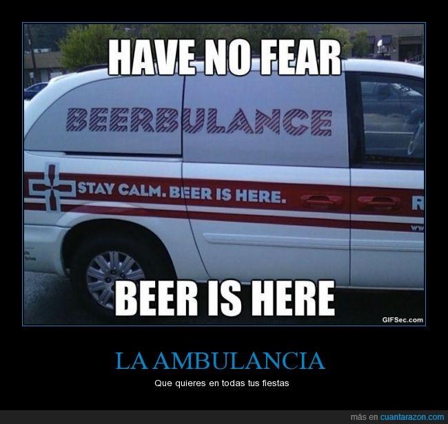 ambulancia,Beer,beerbulance,Birra,Cebada,Cerveza,Lo que venga,Lupulo