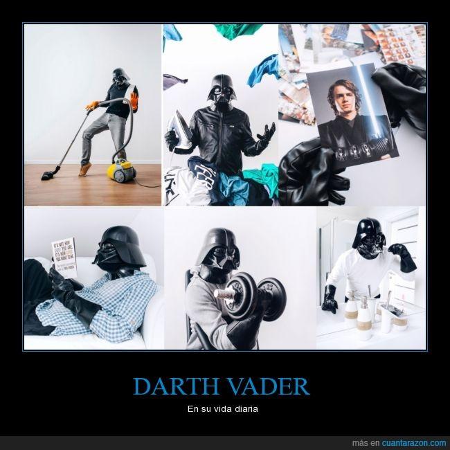 cotidiano,Darth Vader,dia,diaria,kawaii,Star Wars,vida