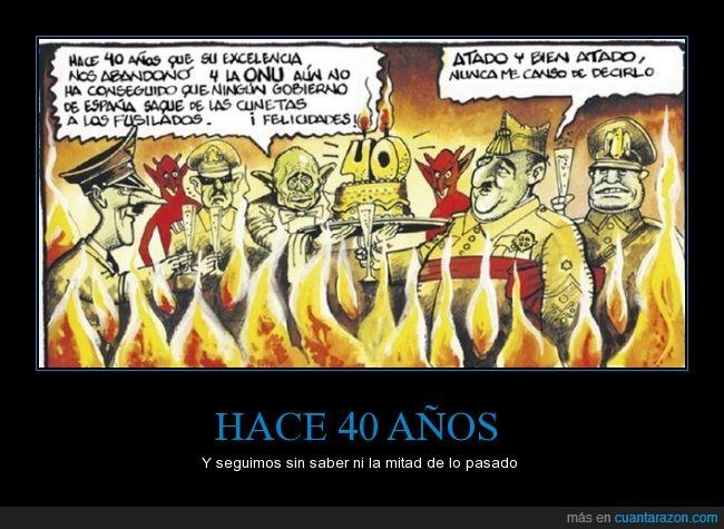 40,aniversario,años,cuarenta,cunetas,Franco,fusilados,Hitler,infierno,muerte,republicanos