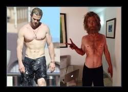 Enlace a Christian Bale ya lo hizo, ahora le toca al mismísimo Thor