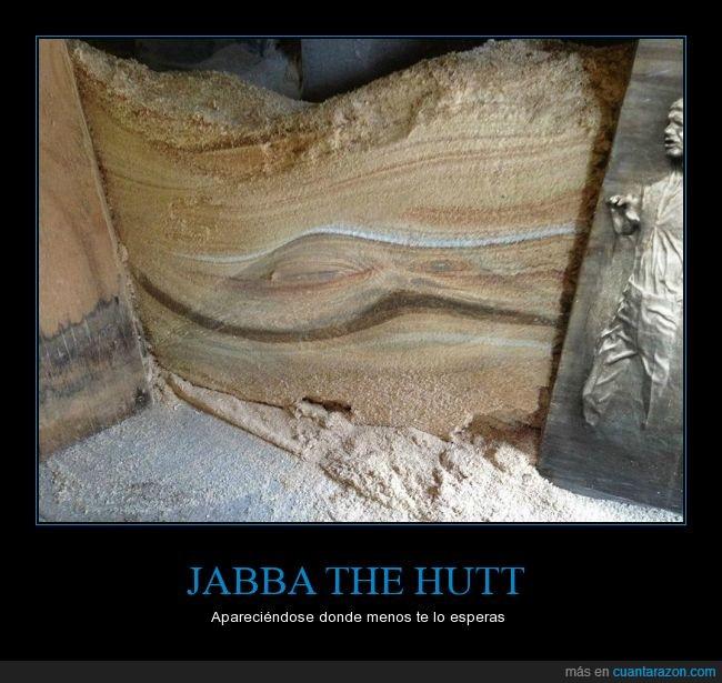aparecer,jabba the hutt,madera,restos,serrin,star wars