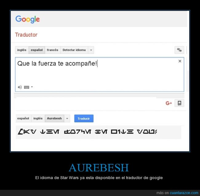 aurebesh,google,idioma,star wars,traductor