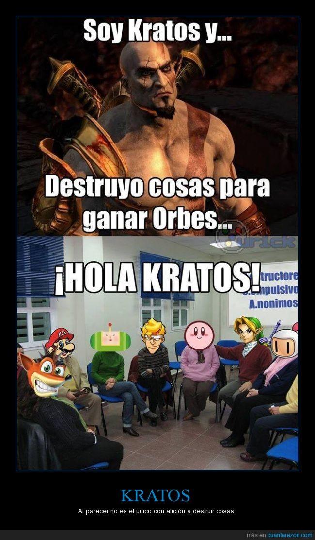 kirby,kratos,link,memes,nintendo,videojuegos