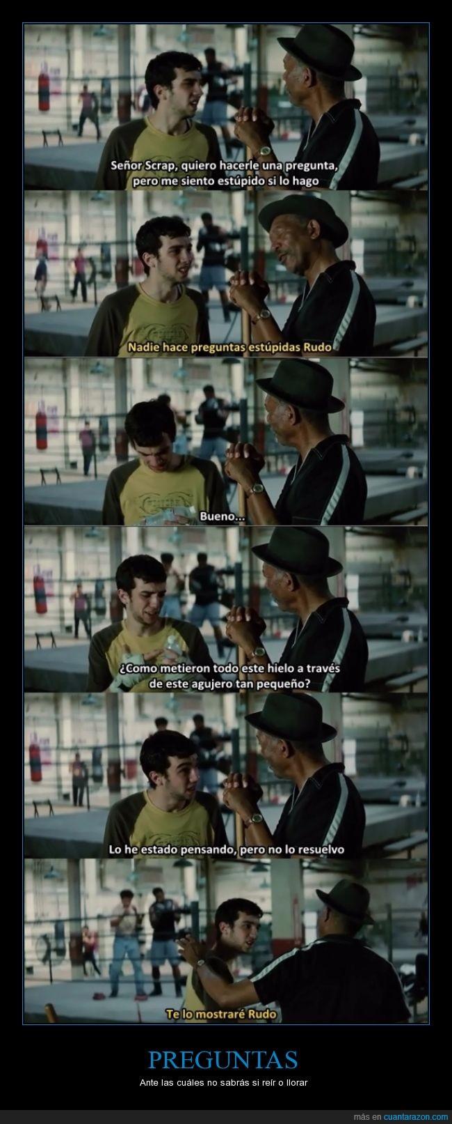 2004,el Óscar de Freeman,Golpes del Destino,gran pelicula,Million Dollar Baby,preguntas estúpidas,Rudo,Scrap,si que existen...