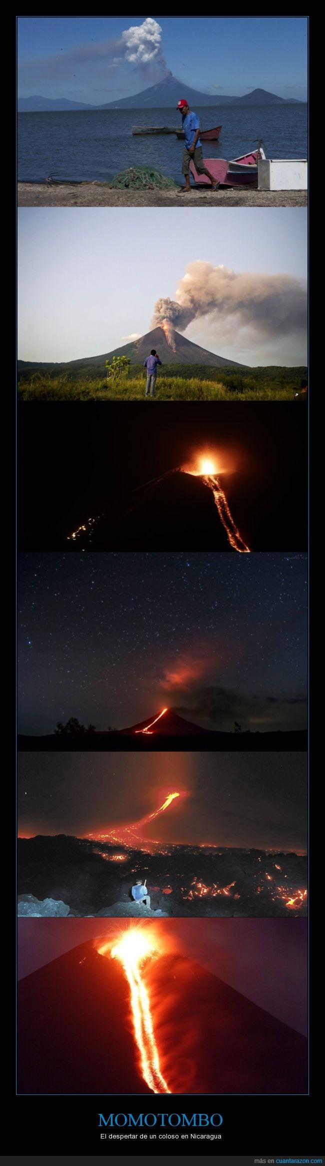 110 años dormido,aprovechar para mandar algunos politicos ahi,erupcion,nicaragua,volcan