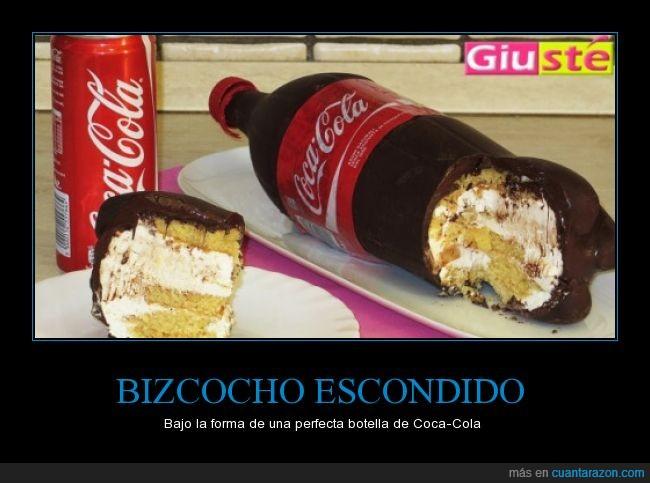 bizcocho,coca cola,coca-cola,Cocacola,pastel
