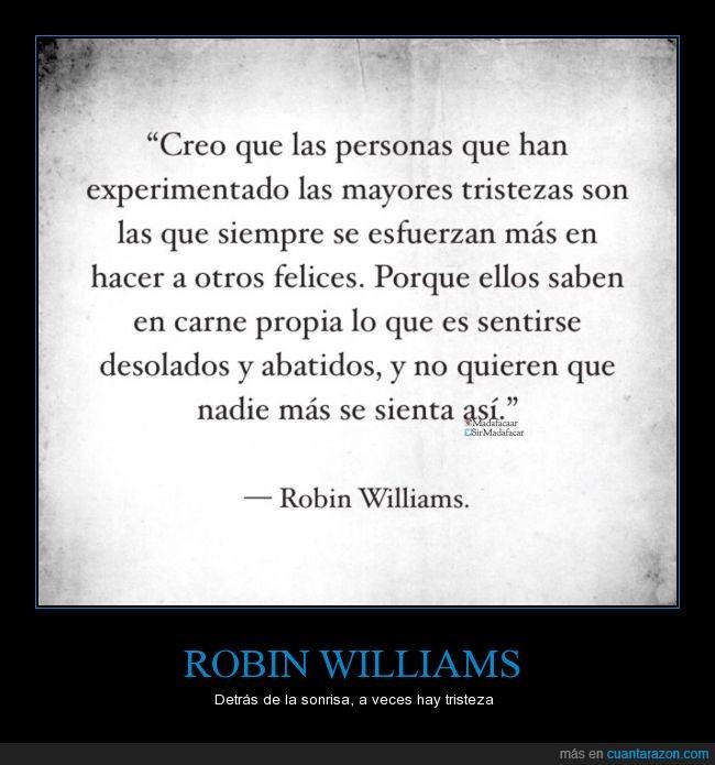 animar,ayudar,felicidad,feliz,Robin Williams,tristeza