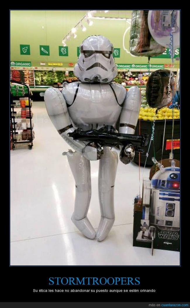 aguantar,globo,lavabo,necesitar,pis,r2d2,star wars,stormtrooper