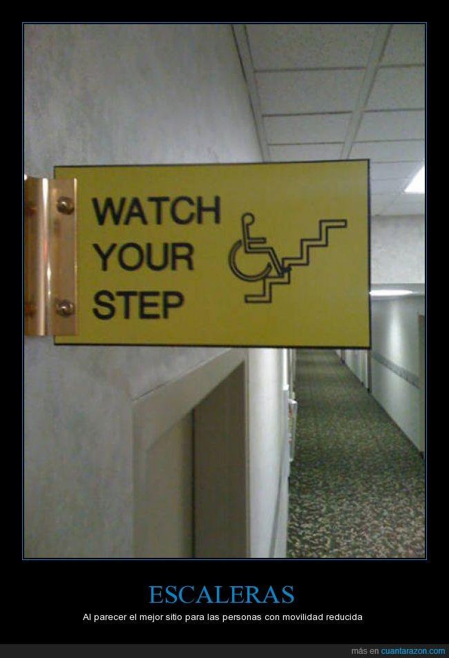 escaleras,imposible,minusválido,movilidad,reducida,ruedas,silla,subir