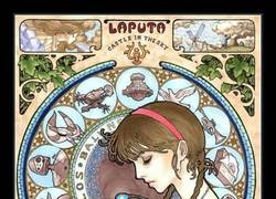 Enlace a ¿Qué sale si unimos a Hayao Miyazaki y a Alfons Mucha?