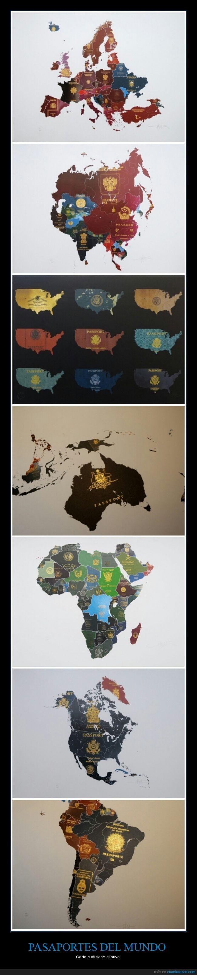 mapas,países,Pasaporte