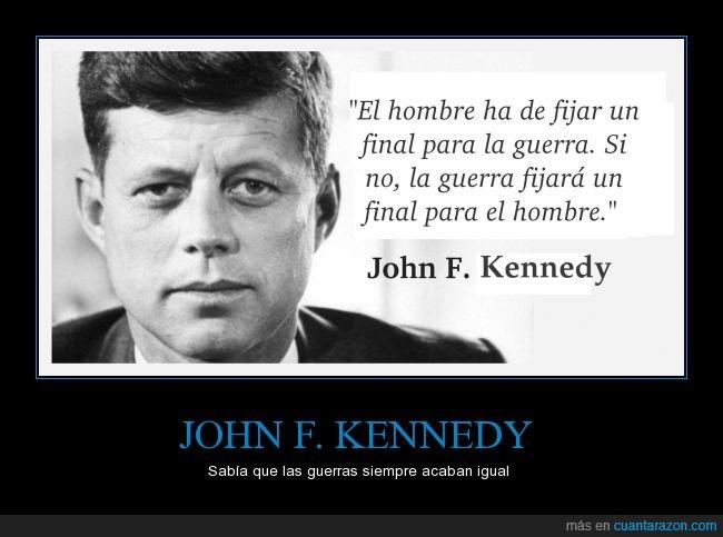 fijar,final,guerra,hombre,JFK,Kennedy,muerte