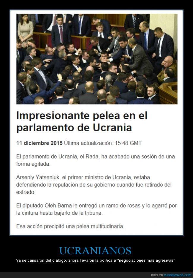 agresiva,negociaciones,parlamento,pelea,politica,torta,Ucrania,ucraniano,violencia
