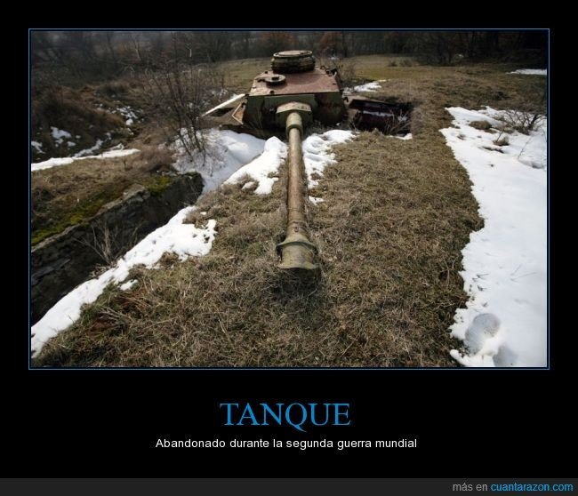abandonado,abandonar,nieve,panzer,segunda guerra mundial,tanque,trinchera