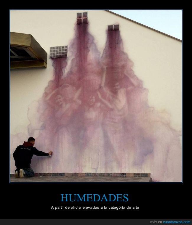 arte,graffiti,húmedad,pared