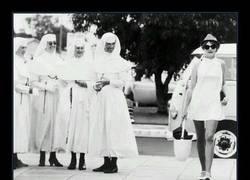 Enlace a Pues se las veía contentas a las monjas...