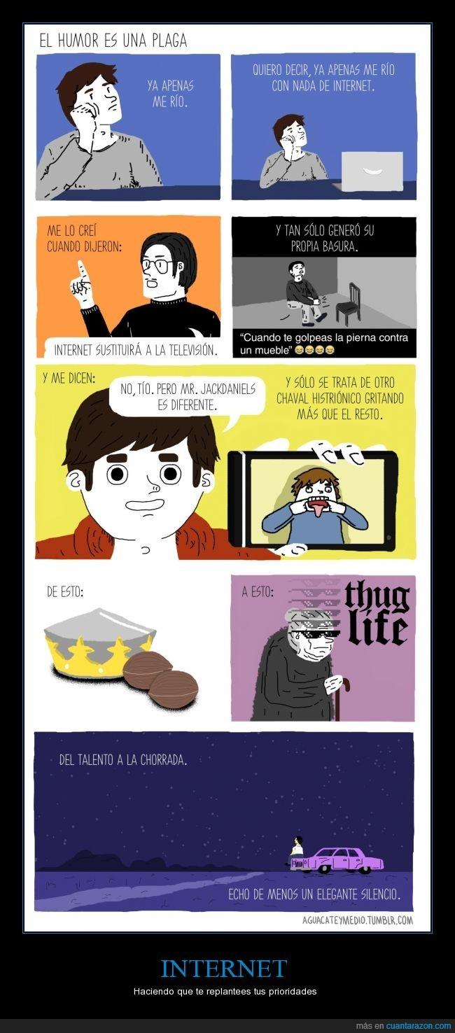 gracia,humor,internet,meme,reír,talento,thug life,youtube