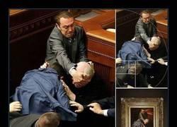 Enlace a Caravaggio a puñetazo limpio en Ucrania. MOLA *____*