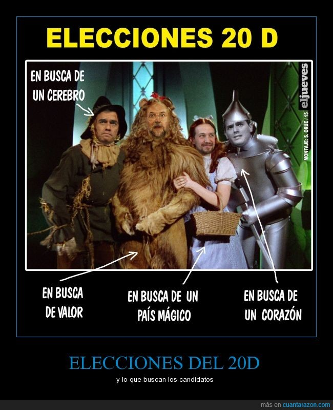 20d,cerebro,corazón,elecciones,Iglesias,pais,politica,Rajoy,Rivera,Sanchez,valor