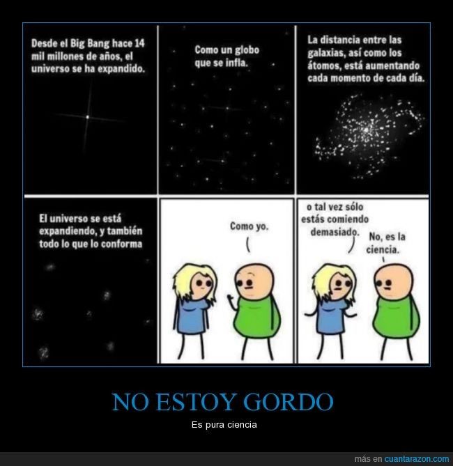 aumentar,big bang,Ciencia,explicación,gordo