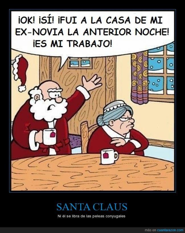 casa,Exnovia,Mujer,Navidad,Papá Noel,Santa Claus,visitar