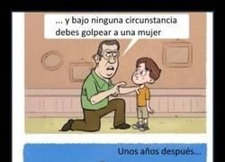 Enlace a Nunca olvides las enseñanzas de tu padre :D