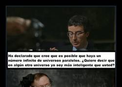 Enlace a No vaciles a Stephen Hawking