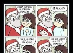 Enlace a Papa Noel, ya sé lo que quiero esta noche :(