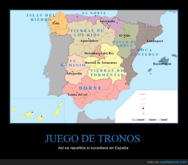 España,game of thrones,got,jdt,Juego de tronos,tierras