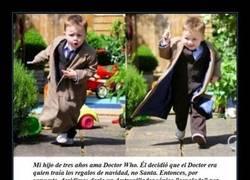Enlace a ¿Qué hacer si tu hijo de 3 años ama Dr. Who?