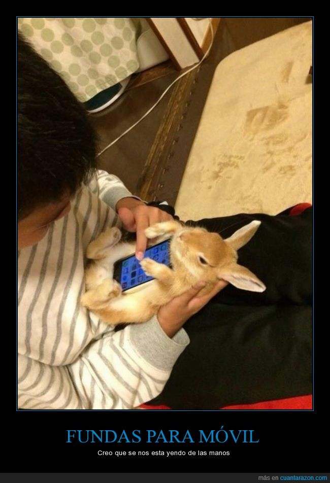 apple,conejo,funda,ios,iphone,mascota