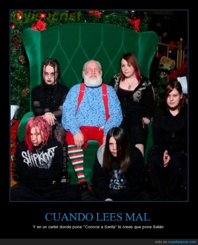 foto,góticos,navidad,navideña,papa noel,Santa,santa claus,Satán