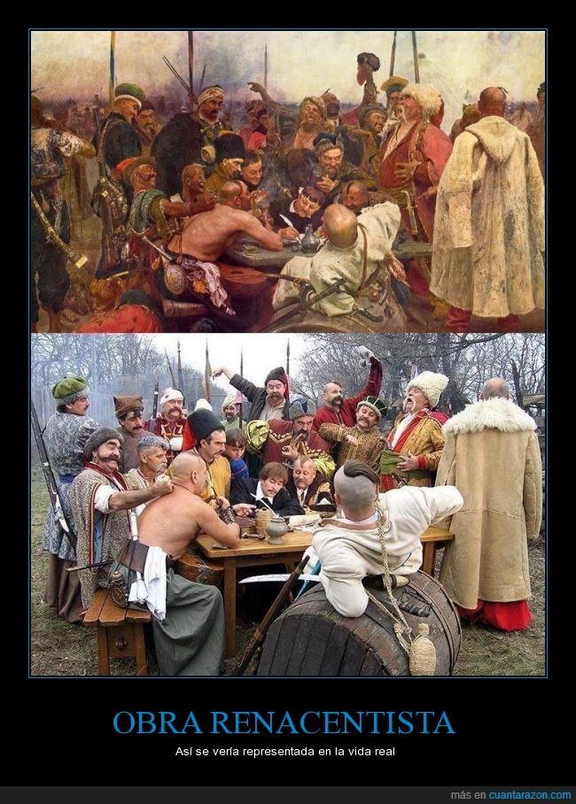 banquete,comer,comida,cuadro,interpretación,mesa,obra,realidad,renacentista