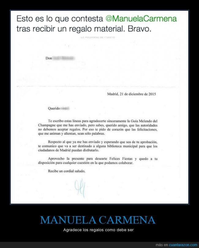alcaldesa,Biblioteca,corrupción,donar,Felices fiestas,libro,Madrid,regalo