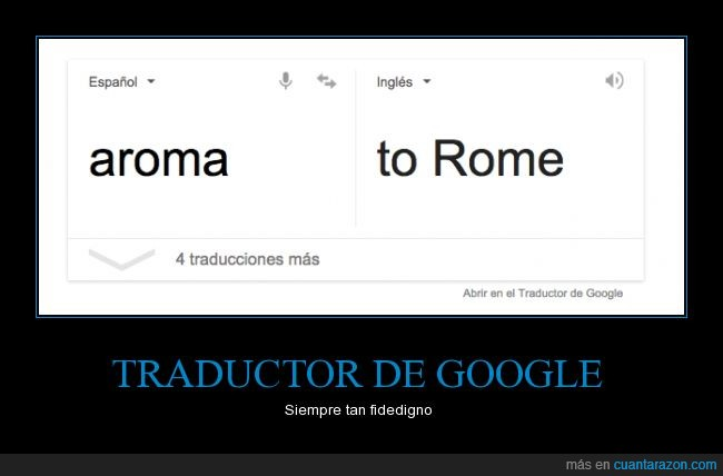 aroma,google,lol,Roma,to,traductor