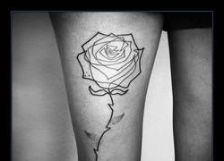 Enlace a Estos tatuajes son una sola línea... Para FLI-PAR :O