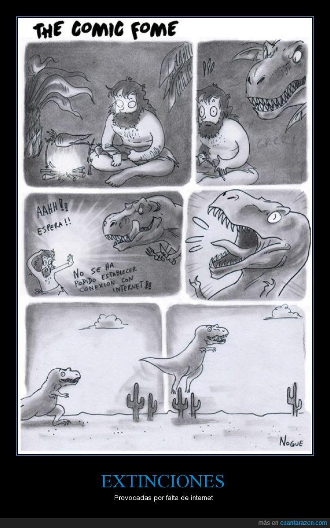 cavernícola,chrome,Dinosaurio,falla,google,internet,prehistoria,saltar