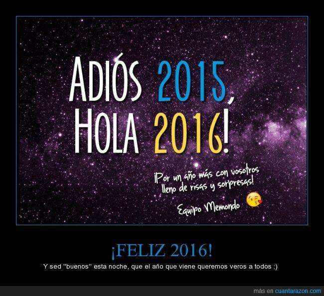 2015,2016,año nuevo,Felicitación,Memondo,nochevieja