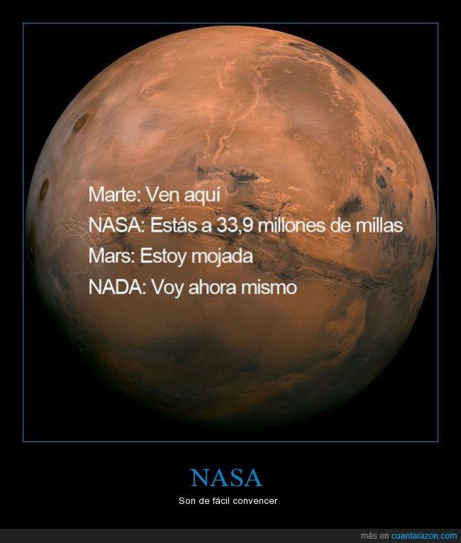 33,9ml = 54.5km,agua,distancia,marte,mojada,NASA,planetas