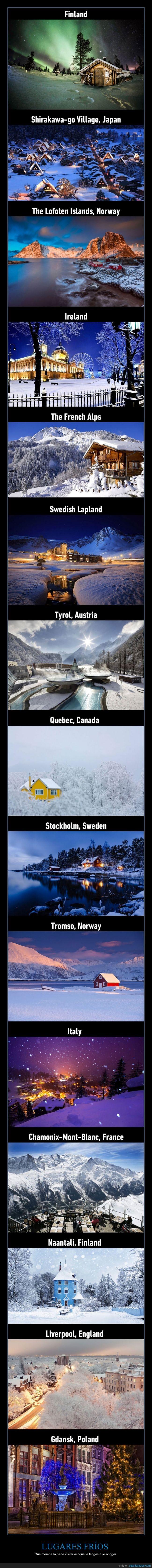 francia,frio,hielo,Inglaterra,invierno,Islandia,Italia,Japón,nieve,Polonia,visitar