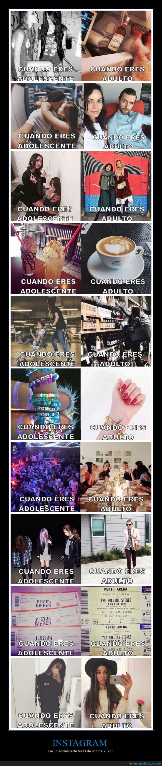 adolescente,beber,diferencia,edad,fiesta,fotos,instagram,pulsera,ropa,selfie