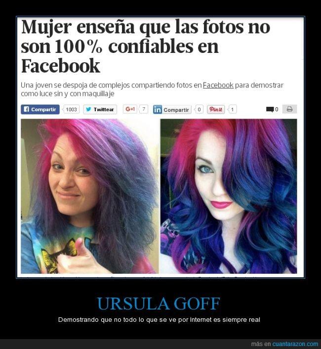 colores,diferencia,facebook,fantasía,maquillaje,maquillar,pelo,tinte,URSULA GOFF